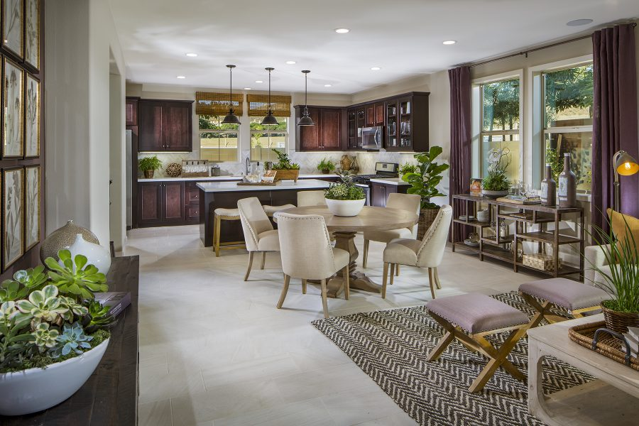 Residence 2 Kitchen | Terracina at Rancho Tesoro in San Marcos, CA | Brookfield Residential