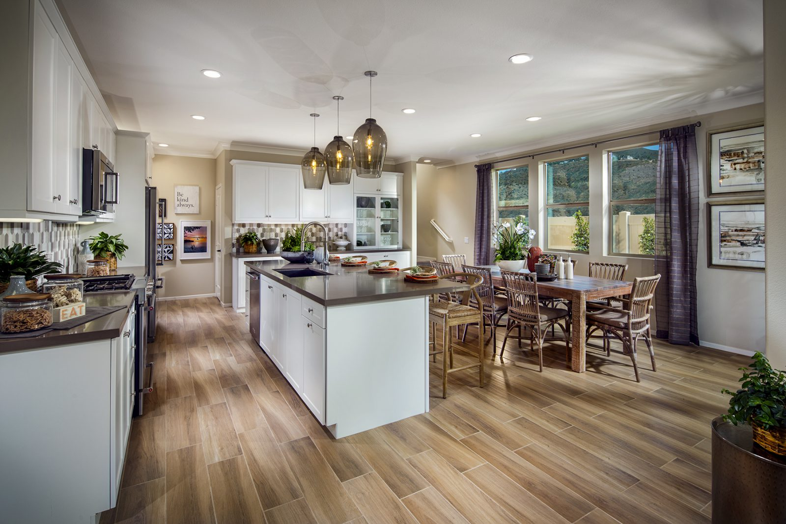 Residence 3 Kitchen | Terracina at Rancho Tesoro in San Marcos, CA | Brookfield Residential