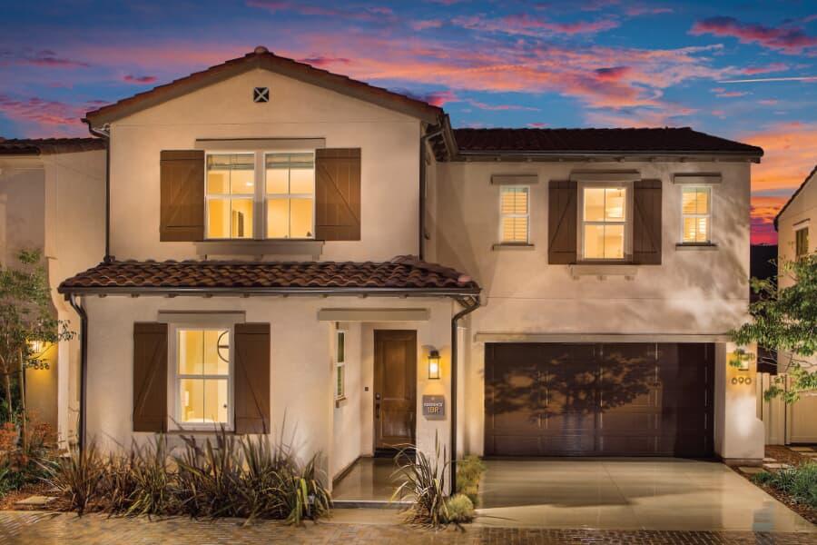 Living Spaces San Marcos : Homes For Sale in San Marcos, CA  Vientos at Rancho Tesoro