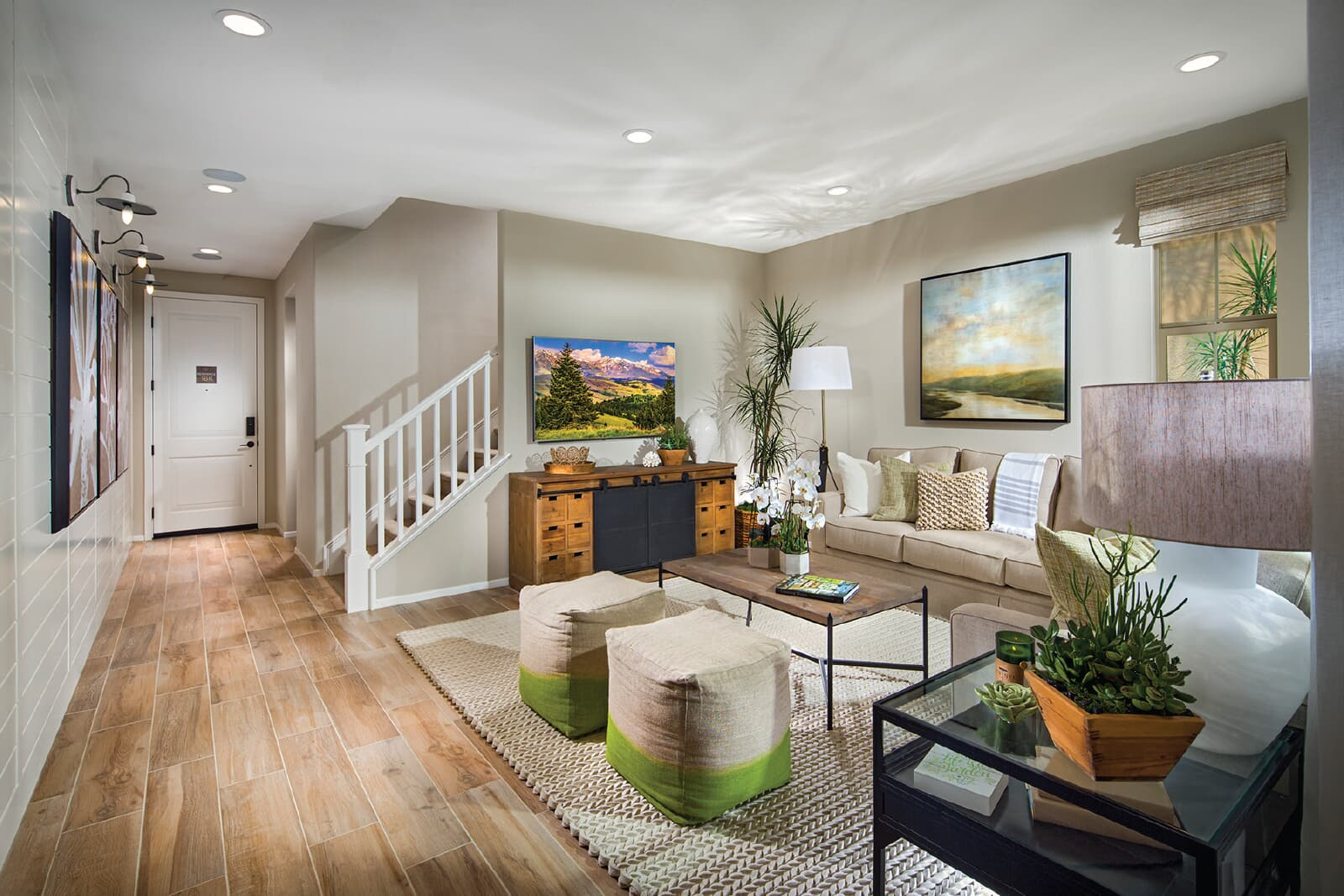 Residence 1 Great Room | Vientos at Rancho Tesoro in San Marcos, CA | Brookfield Residential