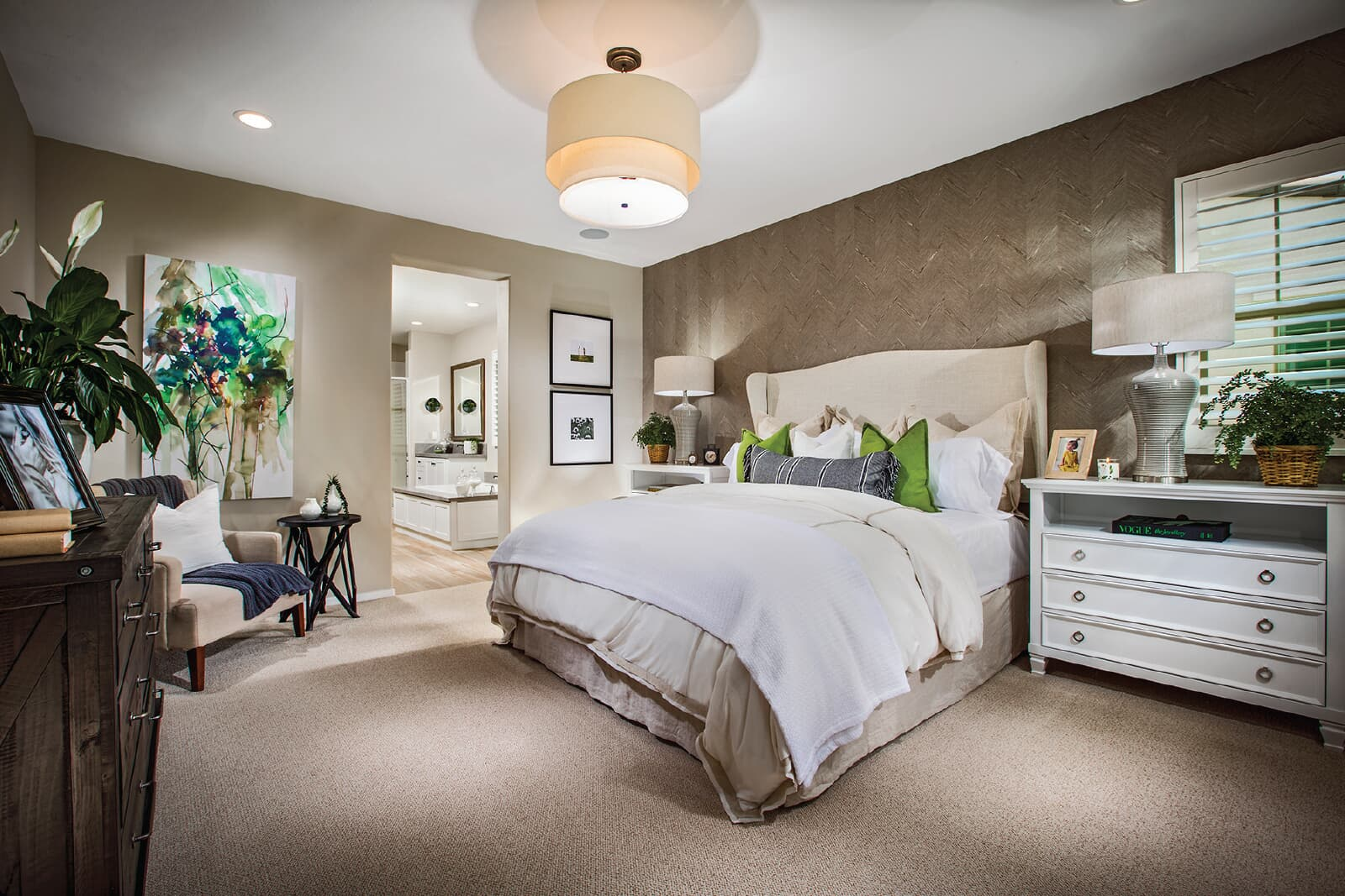 Residence 1 Master Bedroom | Vientos at Rancho Tesoro in San Marcos, CA | Brookfield Residential