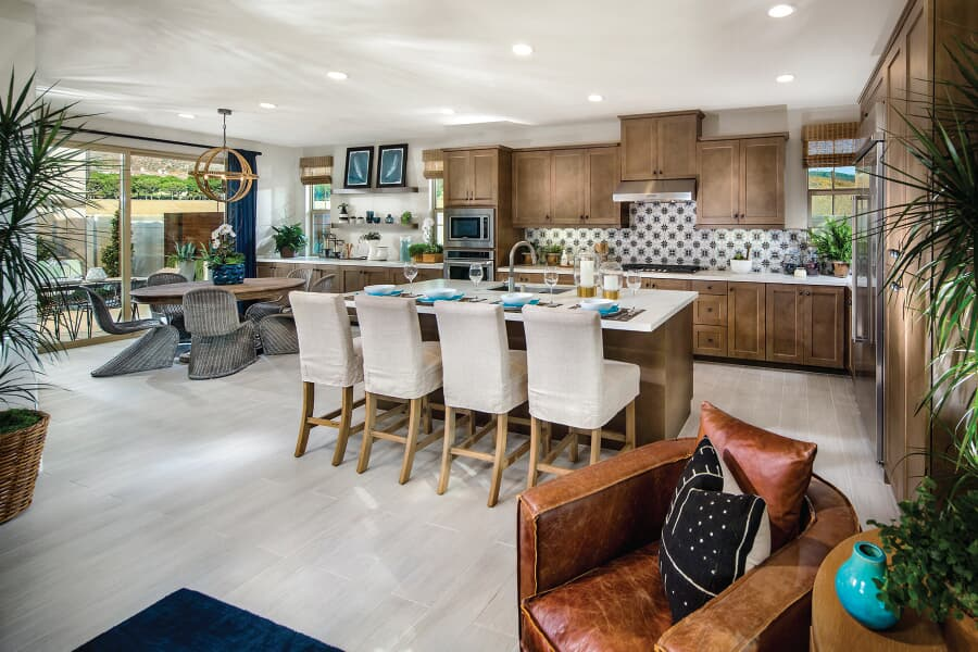 Residence 2 Kitchen | Vientos at Rancho Tesoro in San Marcos, CA | Brookfield Residential