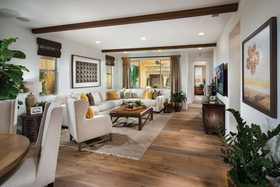 Residence 3 Great Room | Vientos at Rancho Tesoro in San Marcos, CA | Brookfield Residential