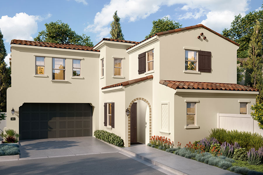 Residence 3A Rendering | Vientos at Rancho Tesoro in San Marcos, CA | Brookfield Residential