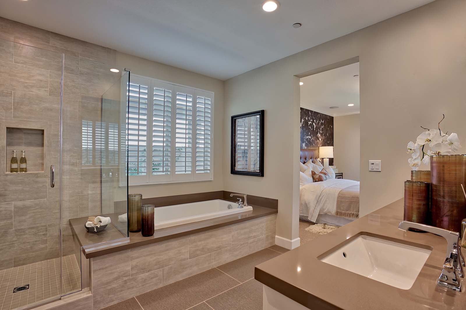 Residence 1 Master Bath | Agave at Spencer
