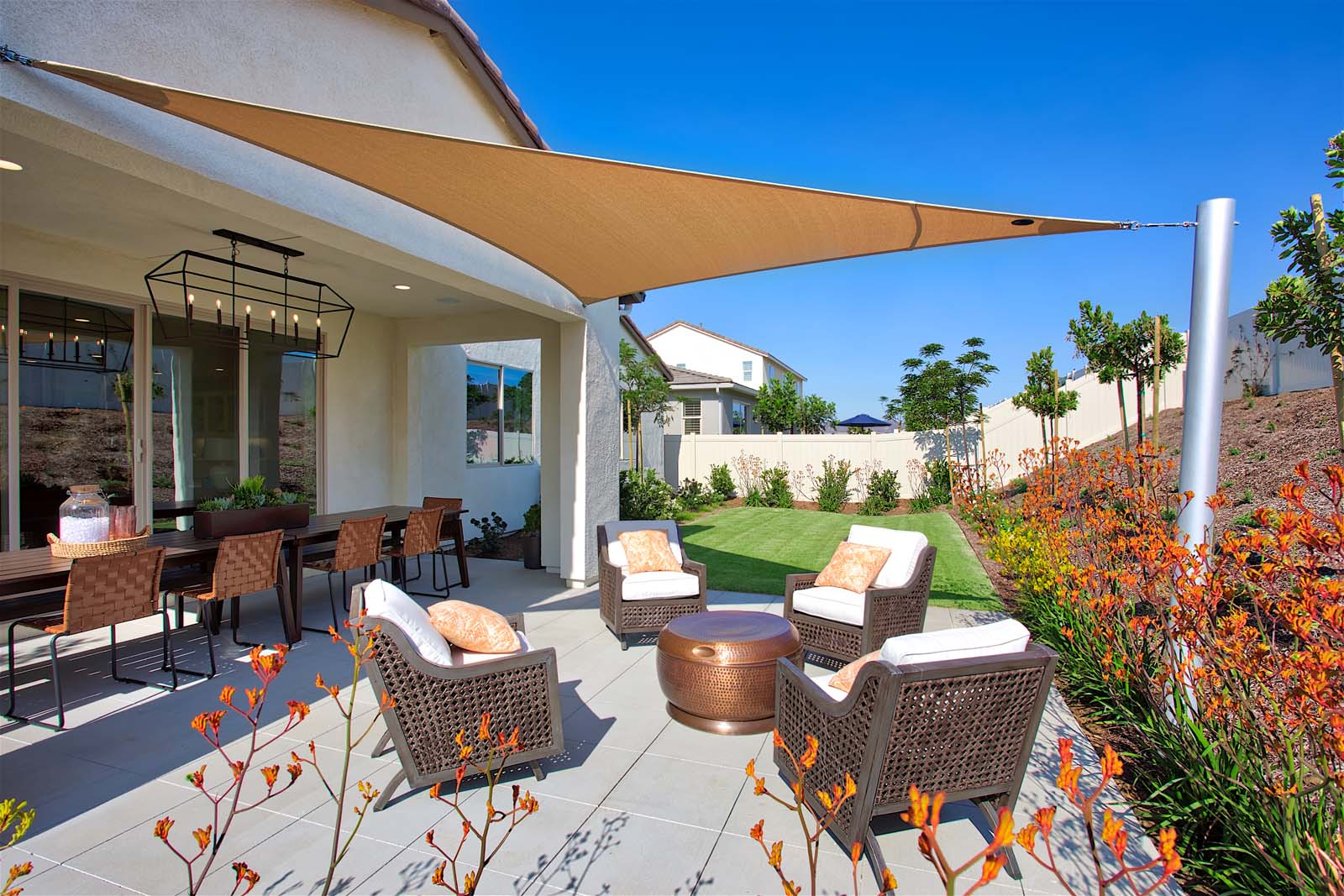 Residence 1 Patio | Agave at Spencer