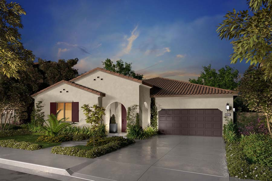 Residence 1A Rendering | Agave at Spencers Crossing in Riverside, CA | Brookfield Residential