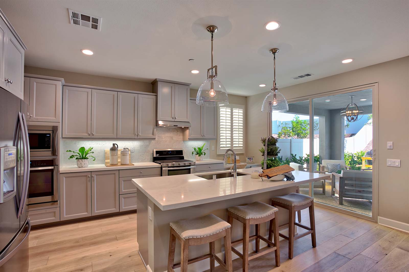 Residence 2 Kitchen | Agave at Spencer