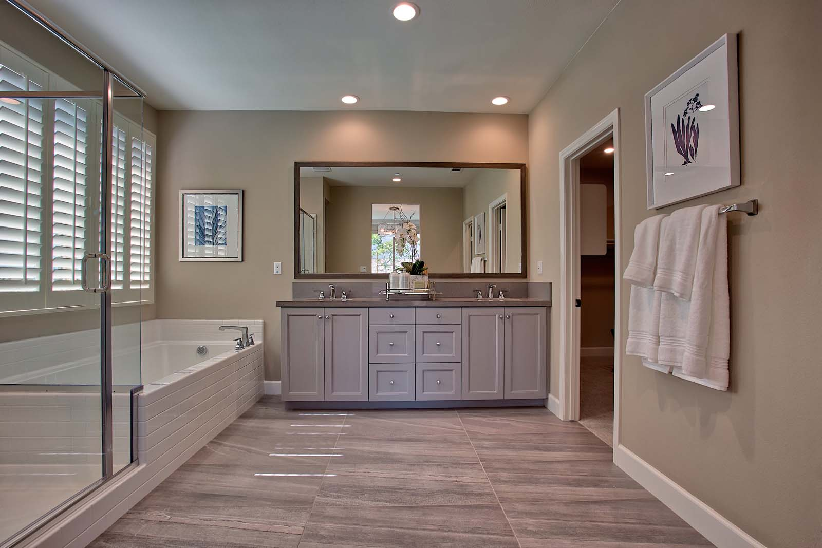 Residence 2 Master Bath | Agave at Spencer