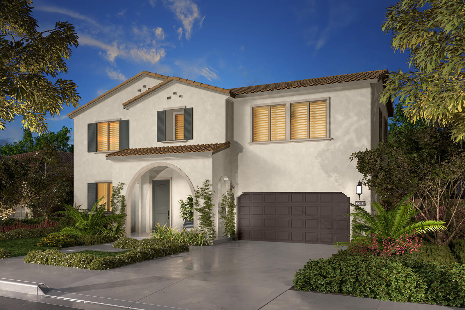 Residence 2A Rendering | Agave at Spencers Crossing in Riverside, CA | Brookfield Residential