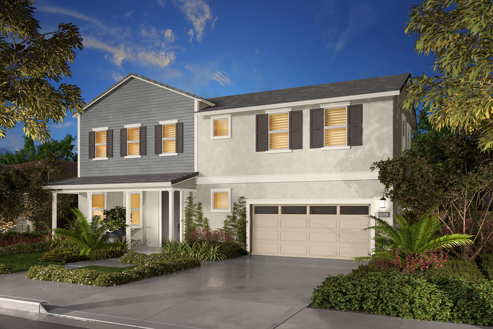 Residence 2B Rendering | Agave at Spencers Crossing in Riverside, CA | Brookfield Residential