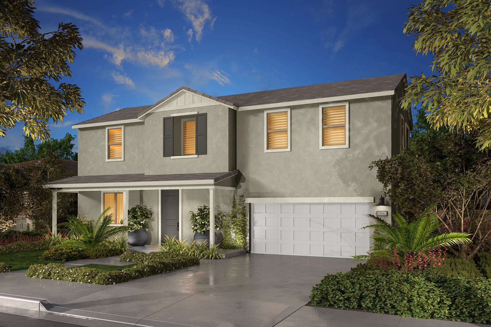 Residence 2C Rendering | Agave at Spencers Crossing in Riverside, CA | Brookfield Residential