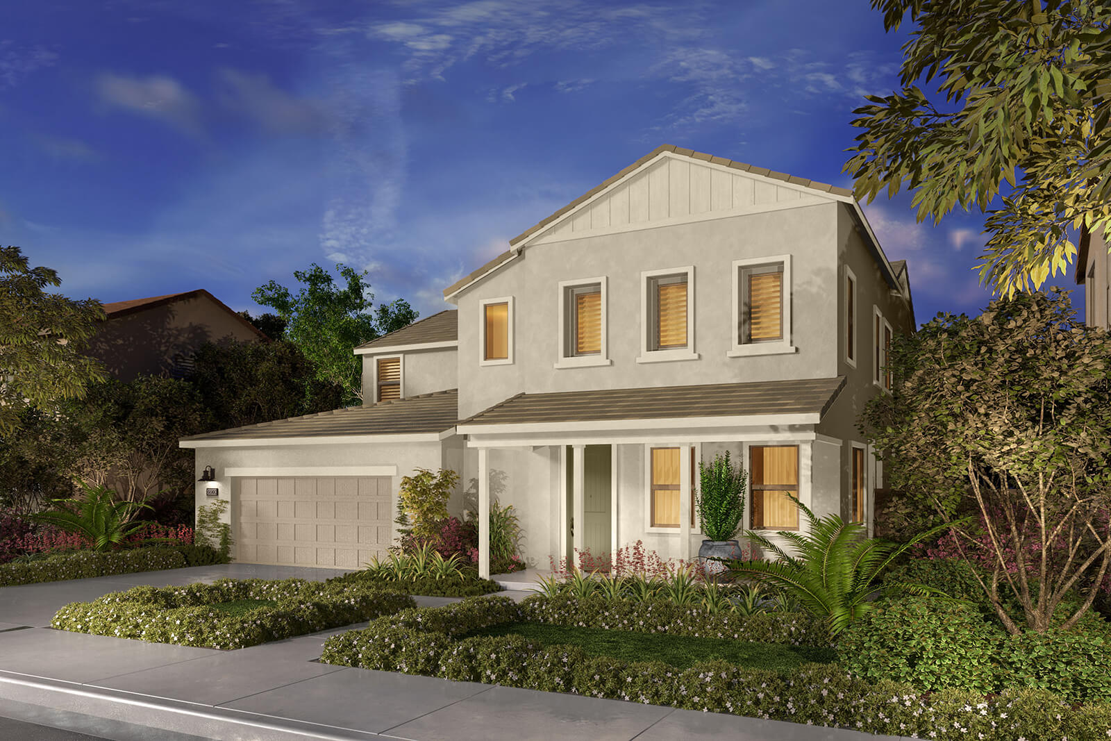 Residence 3CR Rendering | Agave at Spencers Crossing in Riverside, CA | Brookfield Residential