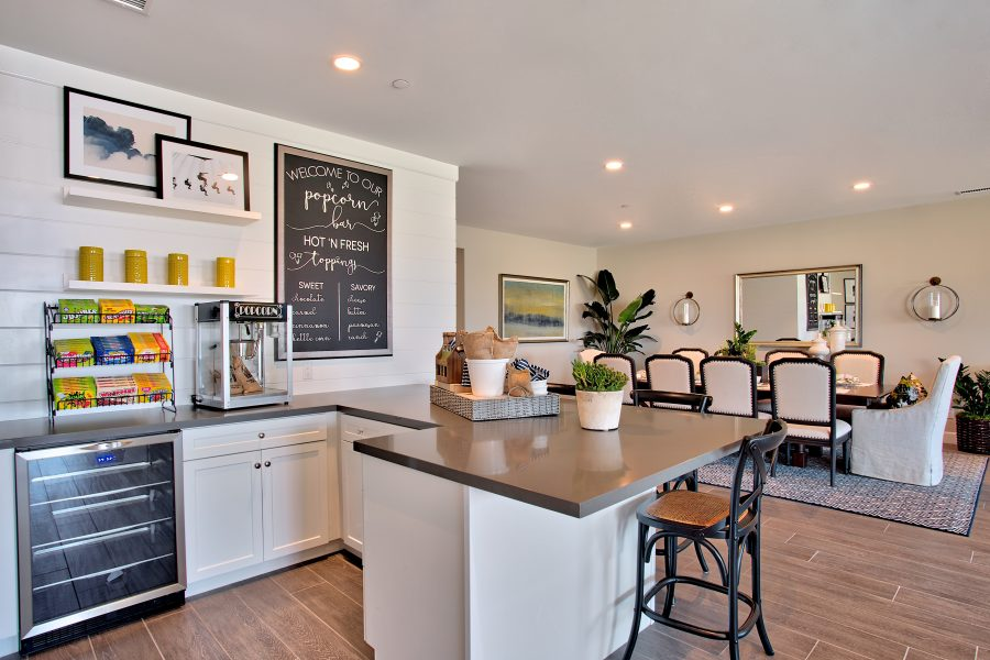 Bar and Dining | Juniper at Spencers Crossing in Riverside, CA | Brookfield Residential