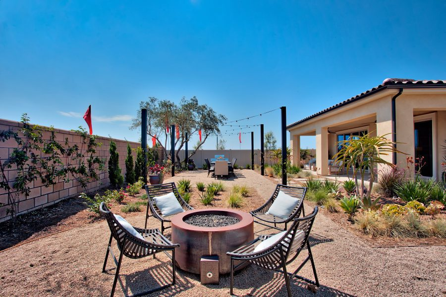 Backyard | Juniper at Spencers Crossing in Riverside, CA | Brookfield Residential