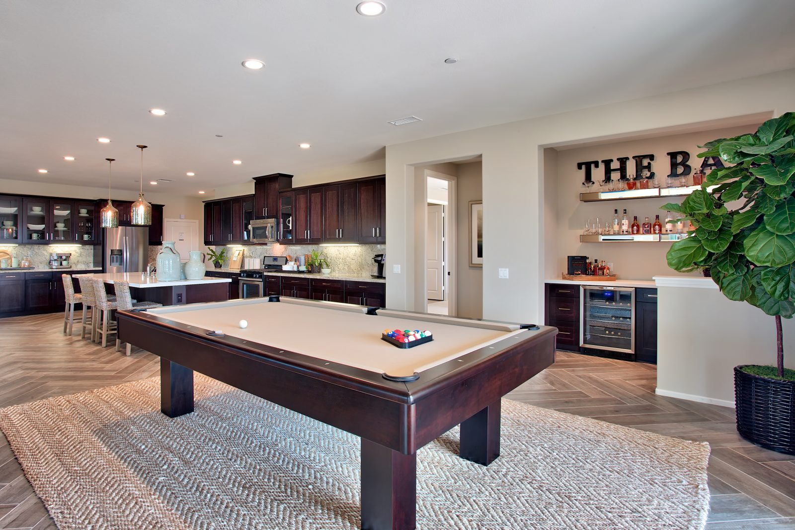 Bar | Juniper at Spencers Crossing in Riverside, CA | Brookfield Residential