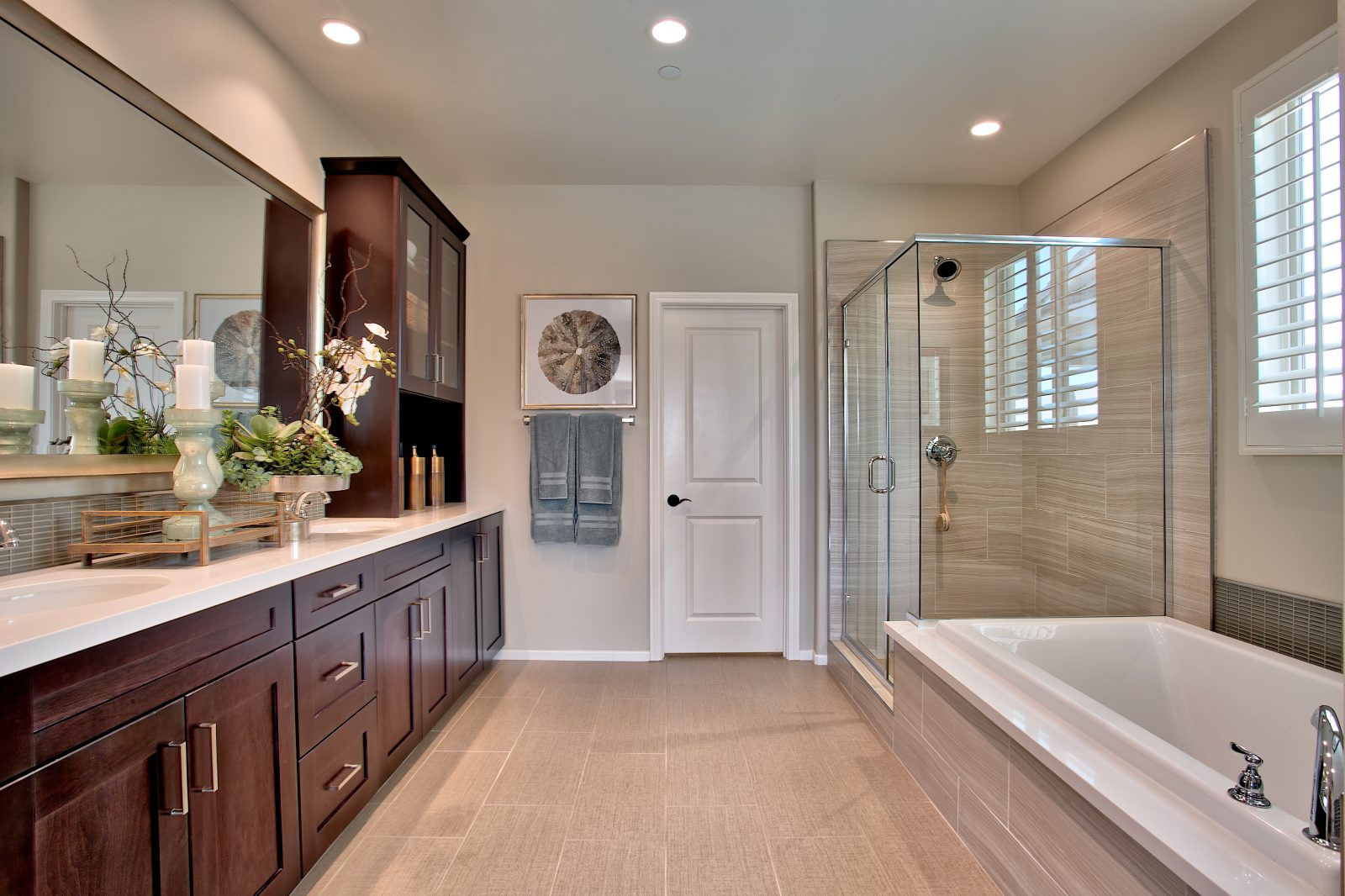 Master Bath | Juniper at Spencers Crossing in Riverside, CA | Brookfield Residential