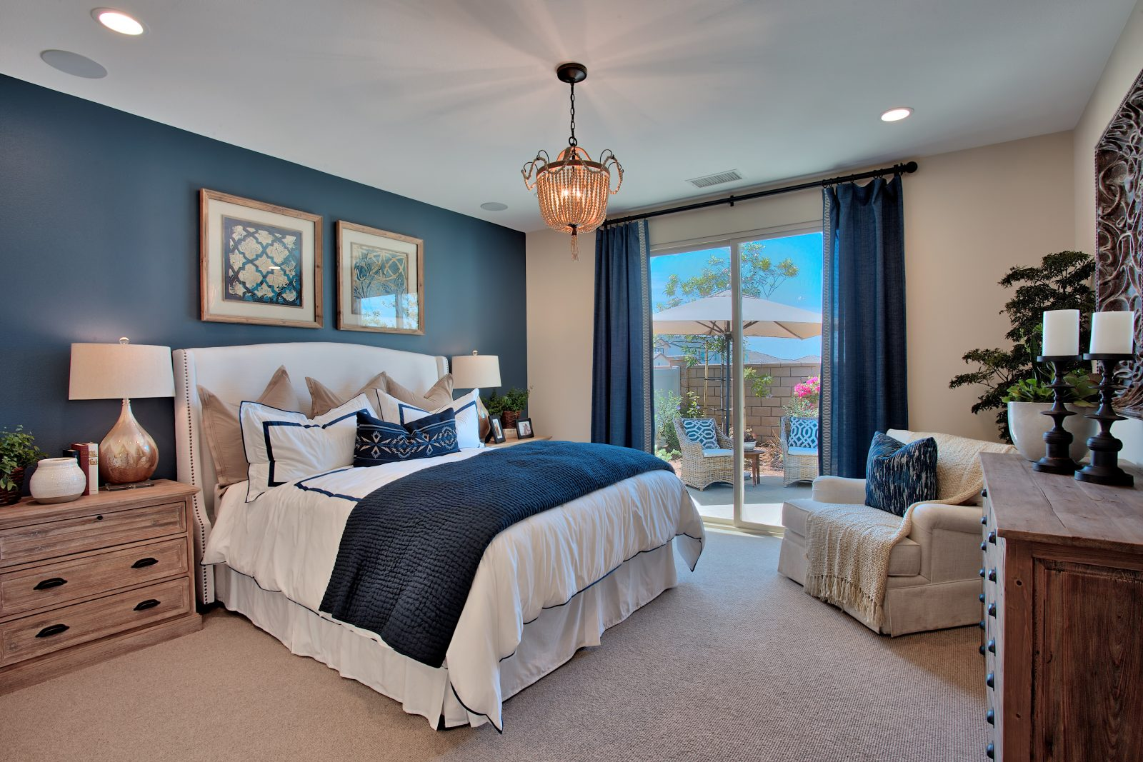 Bedroom at Spencers Crossing in Riverside, CA | Brookfield Residential
