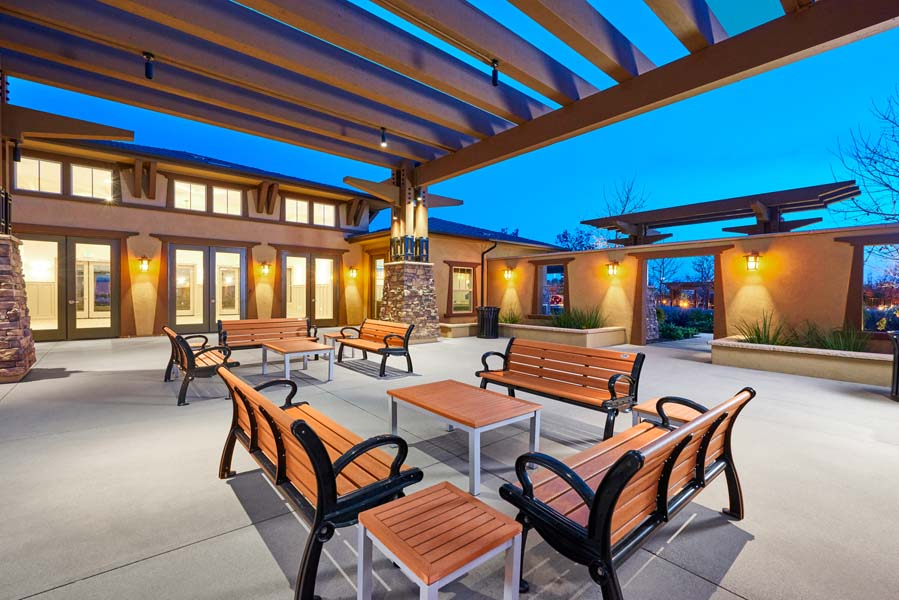 Clubhouse at Spencers Crossing in Riverside, CA | Brookfield Residential