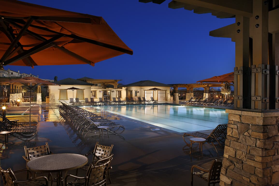 Pool at Spencers Crossing in Riverside, CA | Brookfield Residential