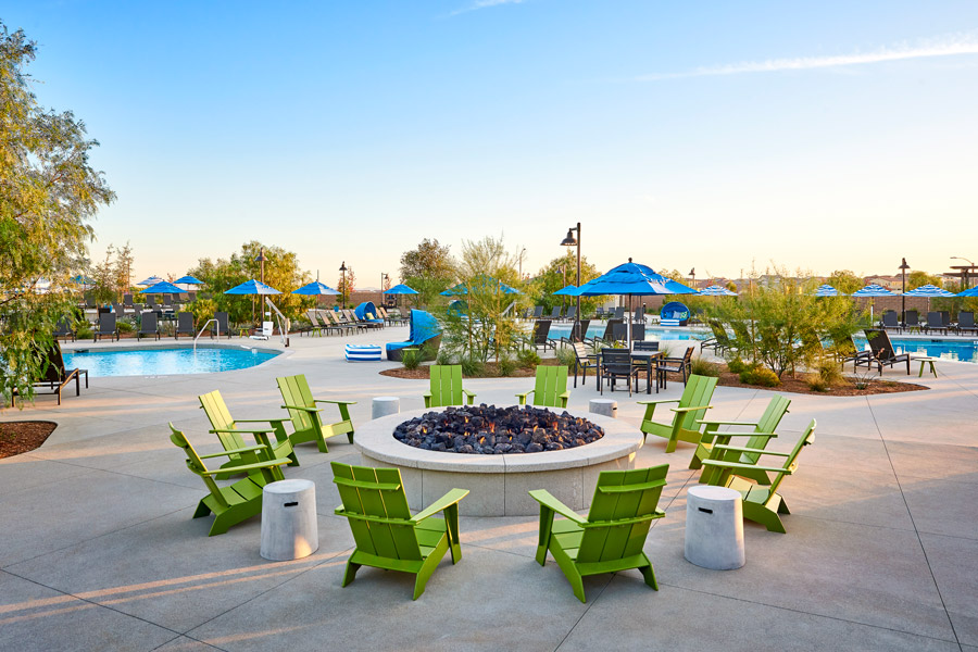 Fire Pit | The Oasis at Spencers Crossing in Riverside, CA | Brookfield Residential