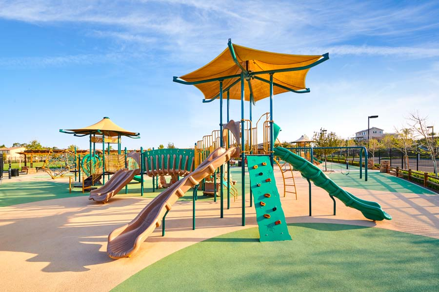Playground at Spencers Crossing in Riverside, CA | Brookfield Residential