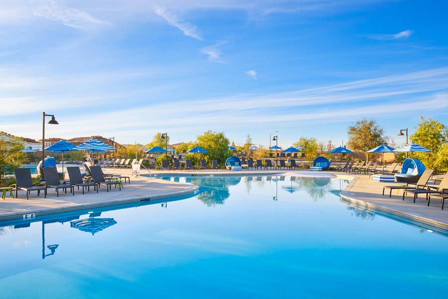 Pool | The Oasis at Spencers Crossing in Riverside, CA | Brookfield Residential