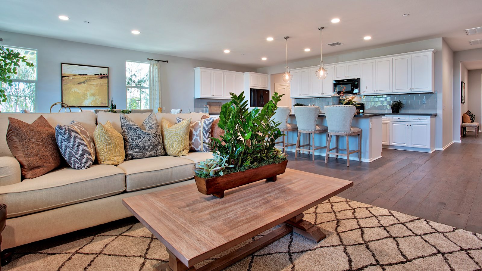 Living Room | Nectar at Spencers Crossing in Riverside, CA | Brookfield Residential