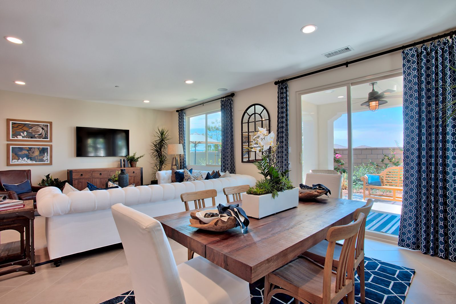 Dining Room | Nectar at Spencers Crossing in Riverside, CA | Brookfield Residential