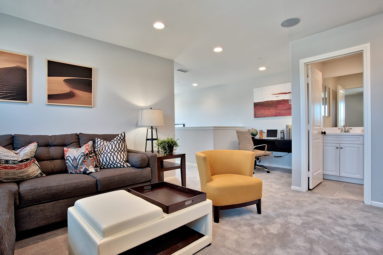 Den | Nectar at Spencers Crossing in Riverside, CA | Brookfield Residential