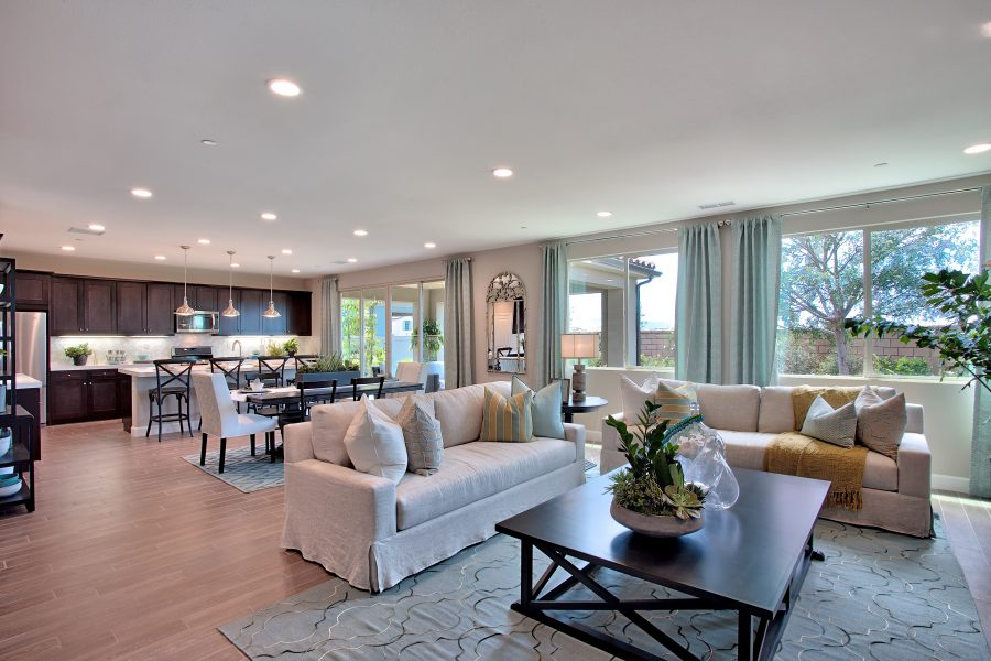 Great Room | Nectar at Spencers Crossing in Riverside, CA | Brookfield Residential