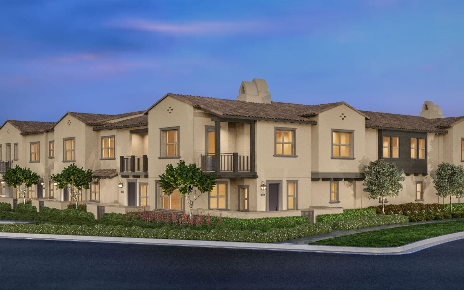 Bayberry at The Groves in Whittier Exterior Rendering