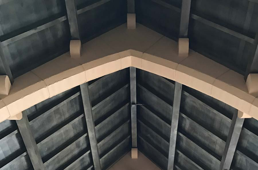 Ceiling beams | The Groves in Whittier, CA | Brookfield Residential