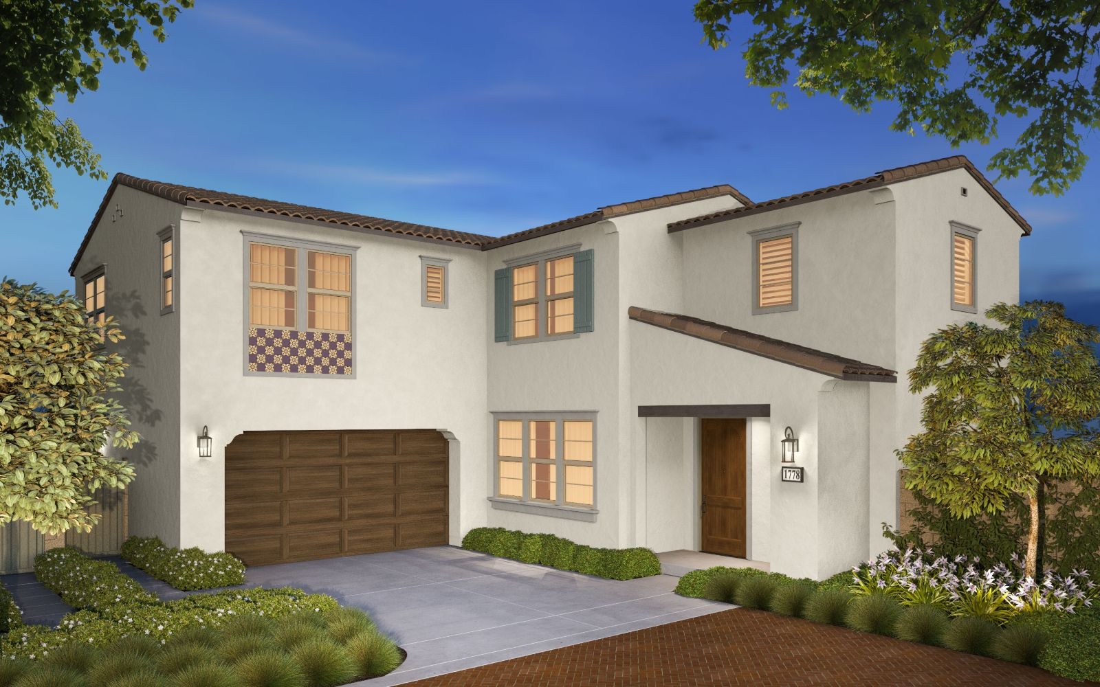 Stella New Homes in Whittier The Groves