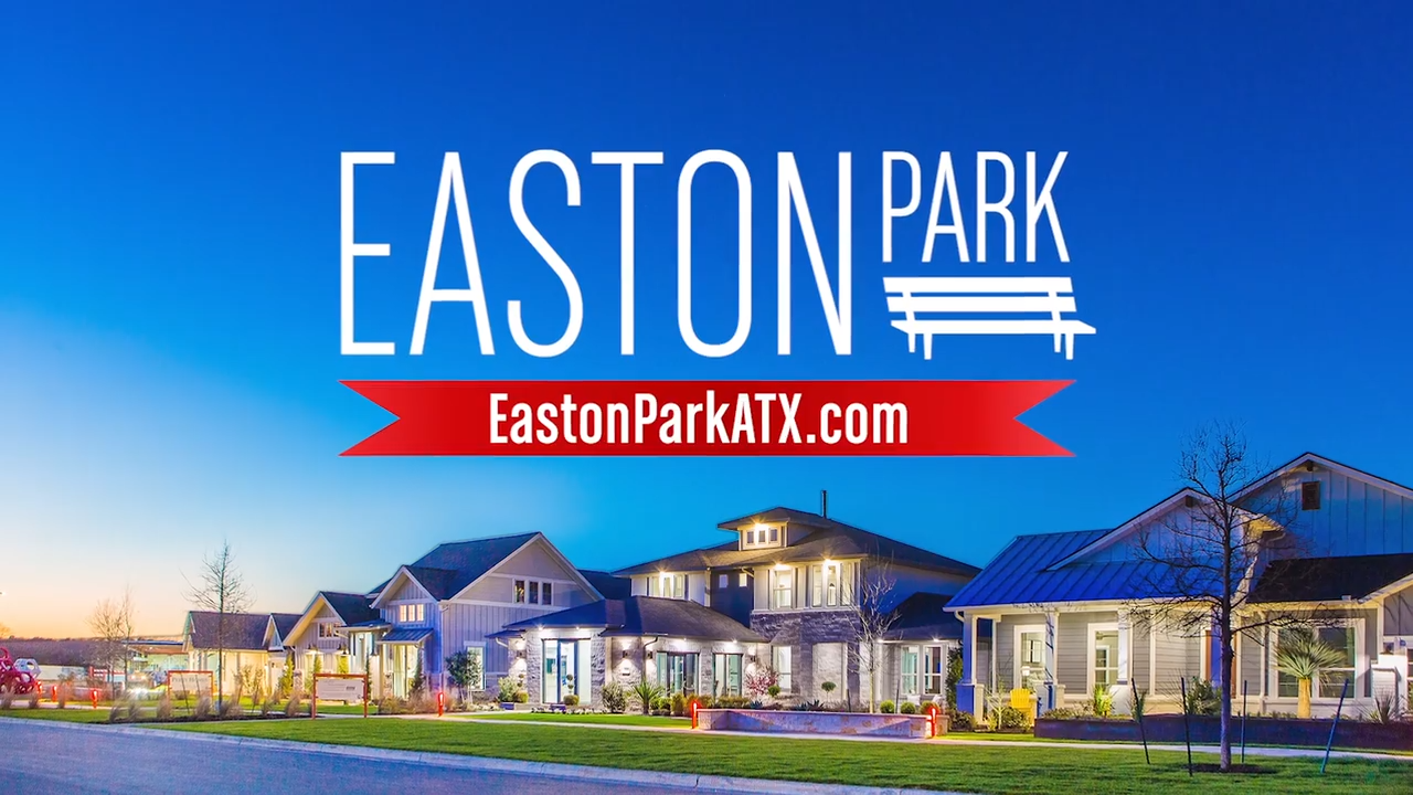 Opening image of Easton park commercial in Austin, TX.