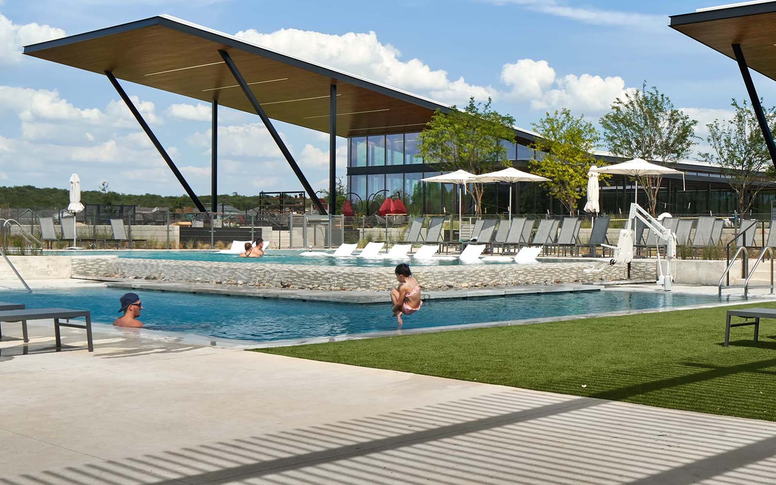 Pool at Easton Park in Austin, TX by Brookfield Residential