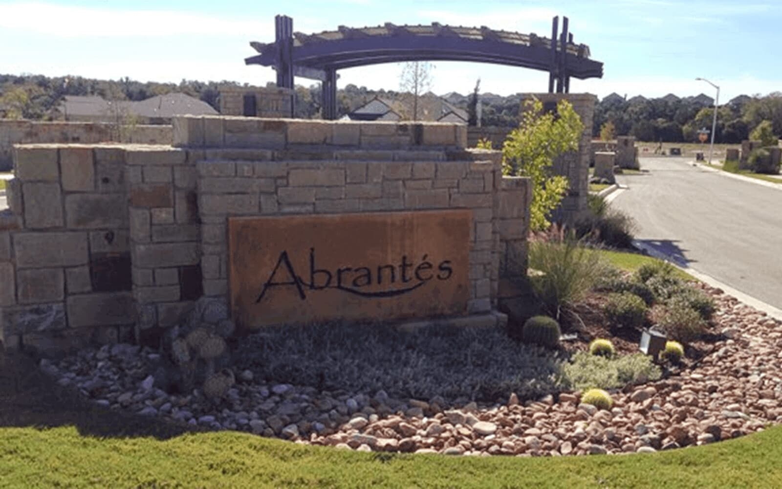 sign-cottages-at-abrantes-cedar-park